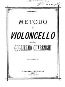 m - Quarenghi G. - Metodo di Violoncello