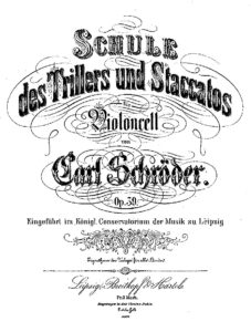 m - Schroder C. - School of Trills and Staccato Op.39