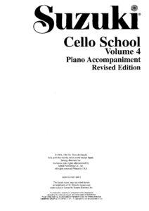 m - Suzuki Cello School 4