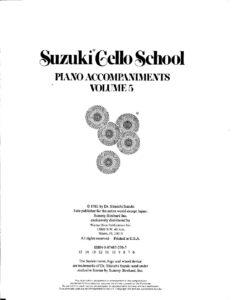 m - Suzuki Cello School 5