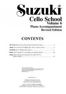 m - Suzuki Cello School 6
