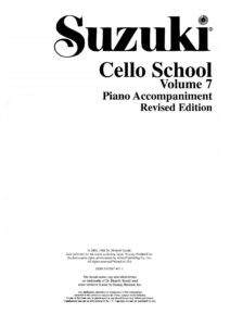 m - Suzuki Cello School 7