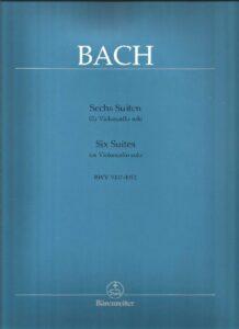 s - Bach J.S. (A.M.) - 6 Cello Suites (Barenreiter)