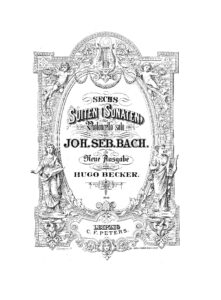 s - Bach J.S. (A.M.) - 6 Cello Suites (Becker)