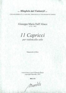 s - Dall'Abaco J. - 11 Capricci (Musedita)