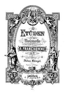 s - Franchomme A. - 12 Etudes Op.35 (Klengel)