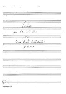 s - Fuchs-Schoenbach E. - Suite Op.4 No.1