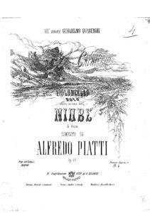 s - Piatti A. - Capriccio ''Niobe'' Op.22