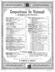 s - Piatti A. - 12 Caprices Op.25 (Simrock)