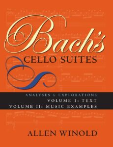 t - Winold A. - Bach's Cello Suites. Analyses and Explorations