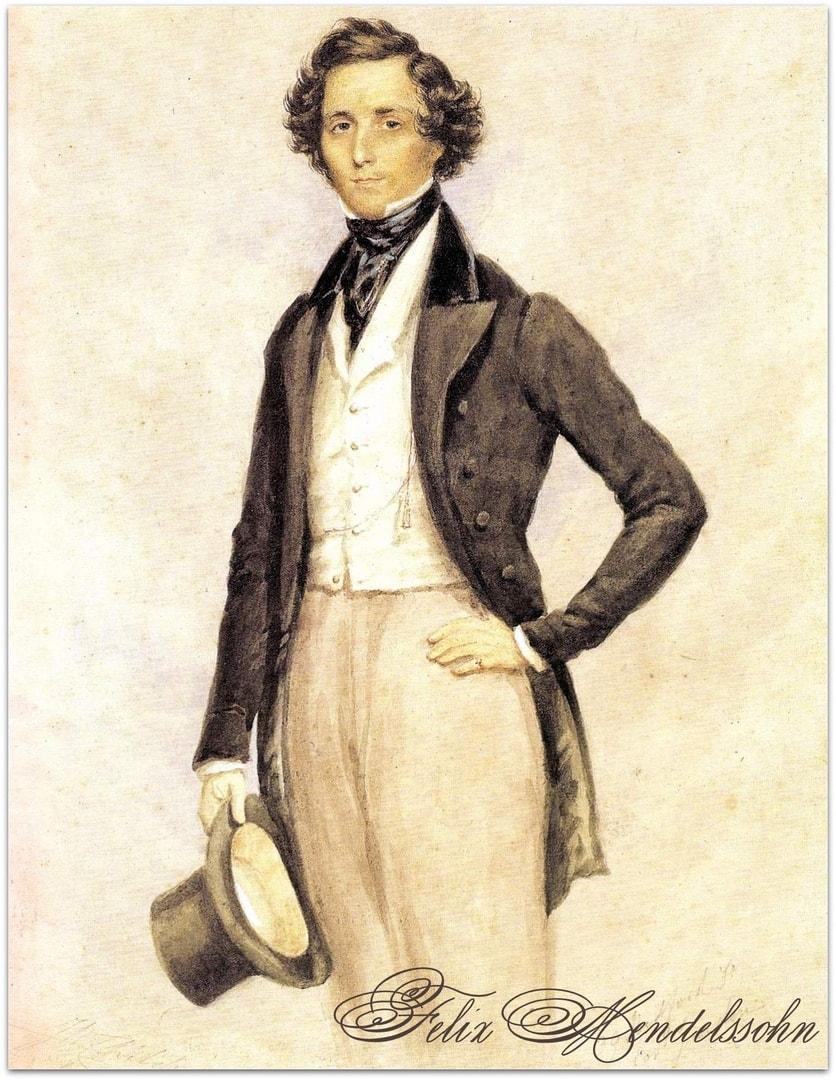25 мая. Премьера первой симфонии Феликса Мендельсона.