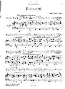 Foote A. – Cello Concerto in G minor, Op. 33