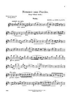 Goens D. - Pieces for Cello and Piano Op.12