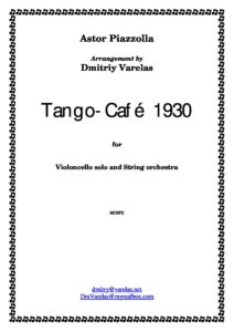 Piazzolla A. - Histoire du Tango 2.Cafe 1930