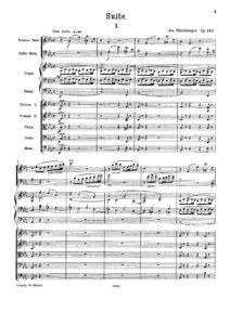 Rheinberger J. - Suite for cello, violin and organ, op. 149