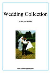 Wedding Collection for Piano, Violin and Cello