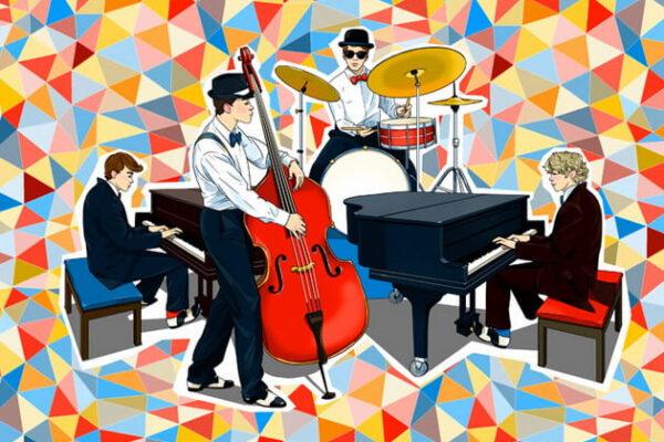 Пять классических пианистов, играющих джаз.