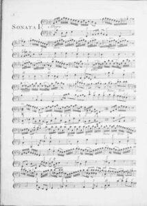 Klein J. - Sonata for cello and b.c., op.4 №1 B-Dur