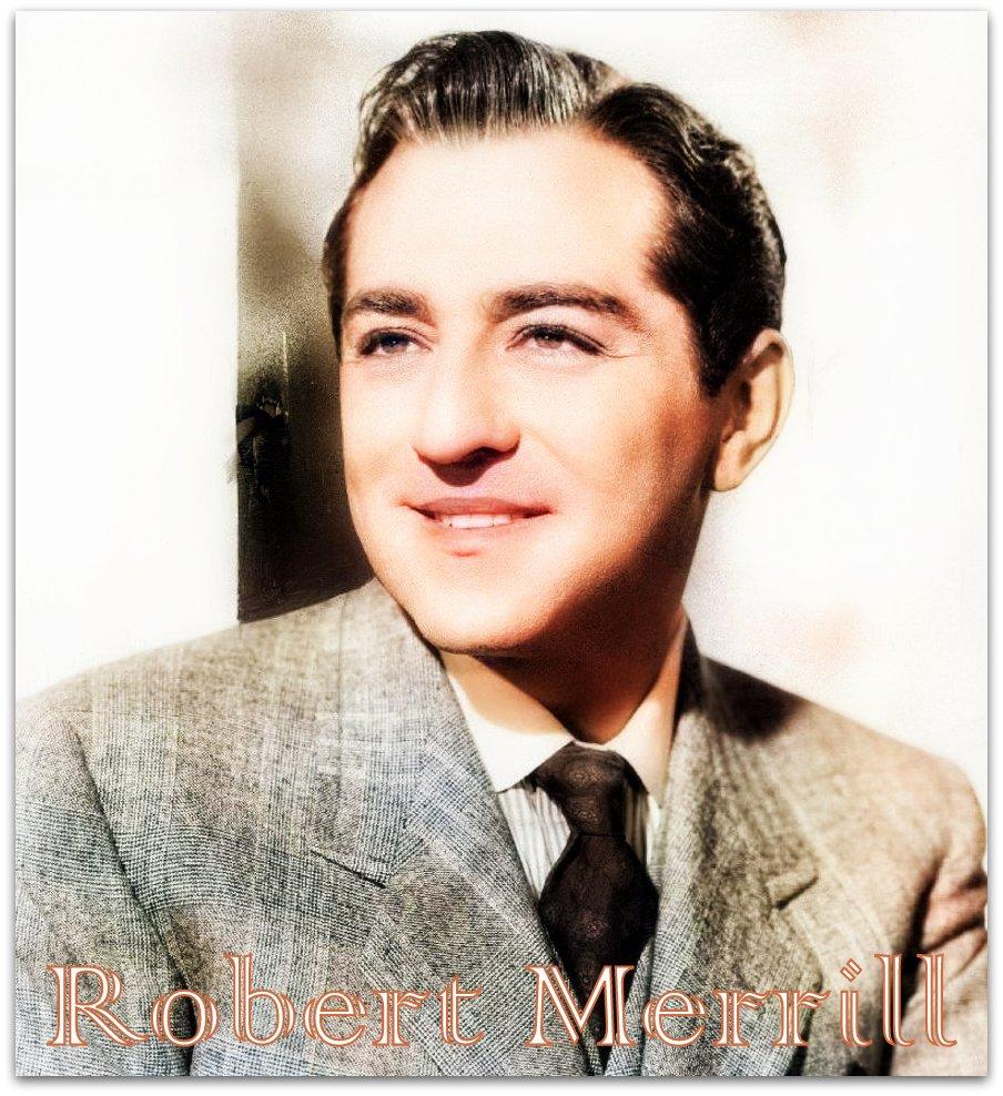 4 июня. Роберт Меррилл.