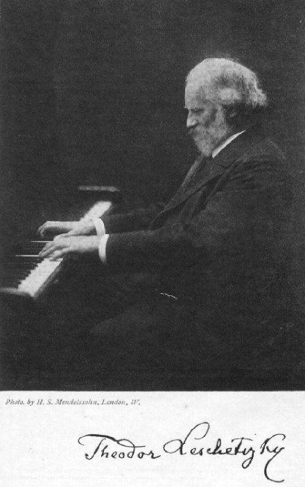 22 июня. Теодор Лешетицкий.
