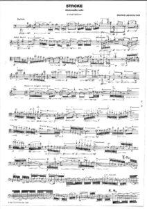 Lindberg M. -Stroke for Cello Solo