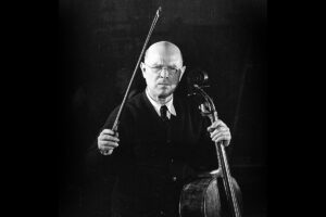 Pau (Pablo) Casals Master-class: Haydn D Major Concerto 1st movement.