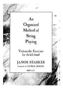 Starker J. - An Organized Method of String Playing