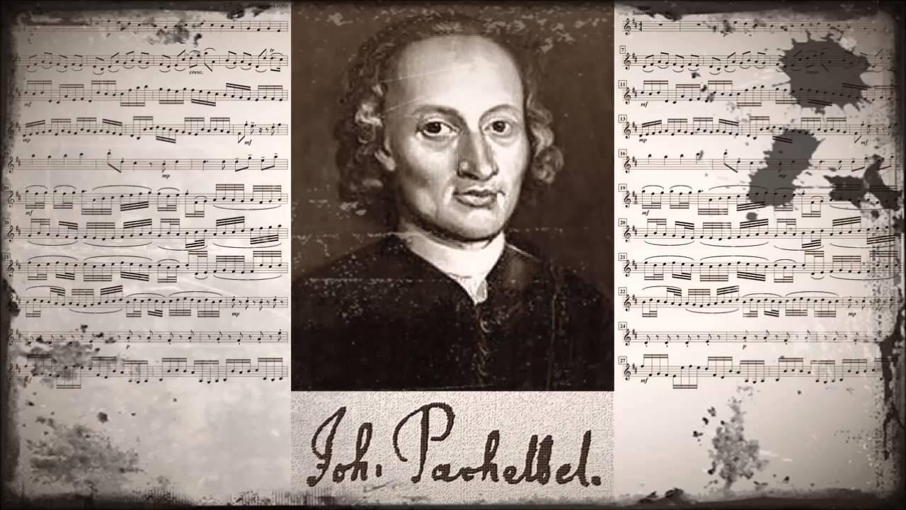 1 сентября. Йохан Кристоф Пахельбель.