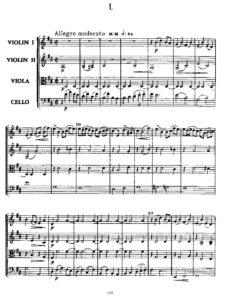 Borodin A. - String quartet №2 D-Dur All Parts