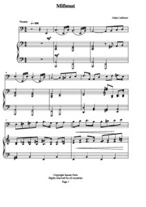Lefebure A. - Sonata for cello and piano