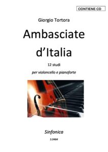Tortora G. - Ambasciate d`Italia for Cello and Piano