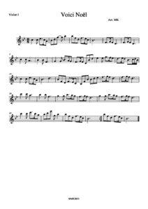 Gruber F.X. - Silent Night for String Quartet