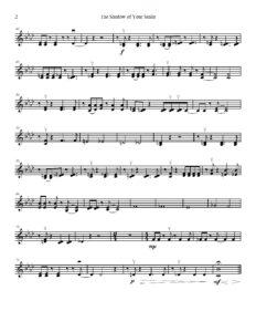 Mandel J. - The Shadow Of Your Smile for String Quartet