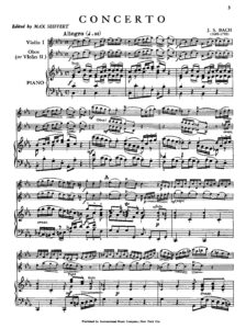 Bach J.S. - Concerto for Violin and Oboe with Orchestra