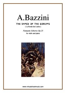 Bazzini A. - Dance of the Elves for Violin and Piano
