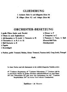 Berg A. - Concerto for Violin Score