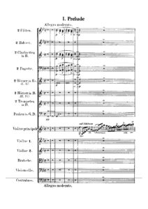 Bruch M. - Concert №1 for Violin and Orchestra Score