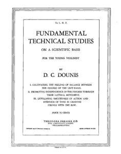 Dounis D.C. - Fundamental Technical Studies
