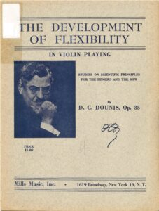 Dounis D.C. - The Development of Flexibility in Violin Playing Op.35
