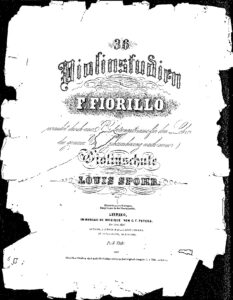 Fiorillo F. - 36 Caprices for Violin (arr. Spohr for 2 Violins)