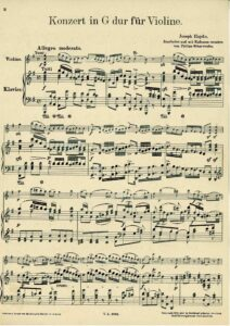 Haydn J. - Concerto for Violin and Orchestra in G-Dur HobVIIa-4 V.2