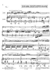 Ibert J. - Le Cortege de Balkis for Violin and Piano