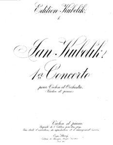 Kubelik J. - Concerto №1 for Violin and Orchestra