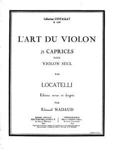 Locatelli P.A. - 25 Caprices for Violin Solo V.2
