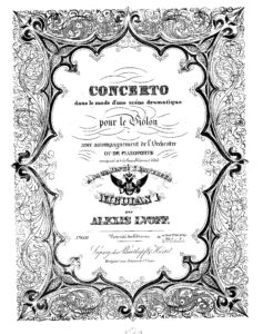 Lvov A. - Concerto for Violin and Orchestra