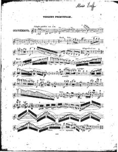 Lvov A. - Concerto for Violin and Orchestra Score