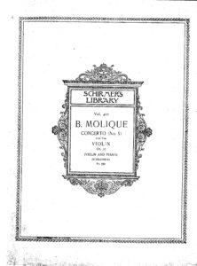 Molique B. - Concerto №5 for Violin and Orchestra Op.21