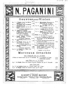 Paganini N. - Concerto №2 for Violin and Orchestra Op.7 V.2