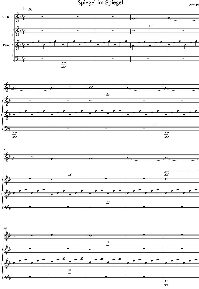 Part A. - Spiegel im Spiegel for Violin and Piano