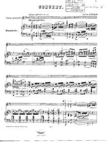 Raff J. - Concerto №1 for Violin and Orchestra